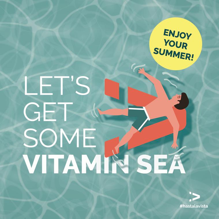Let's get some vitamin sea